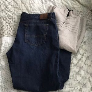 Vintage straight style jeans from Lucky Brand